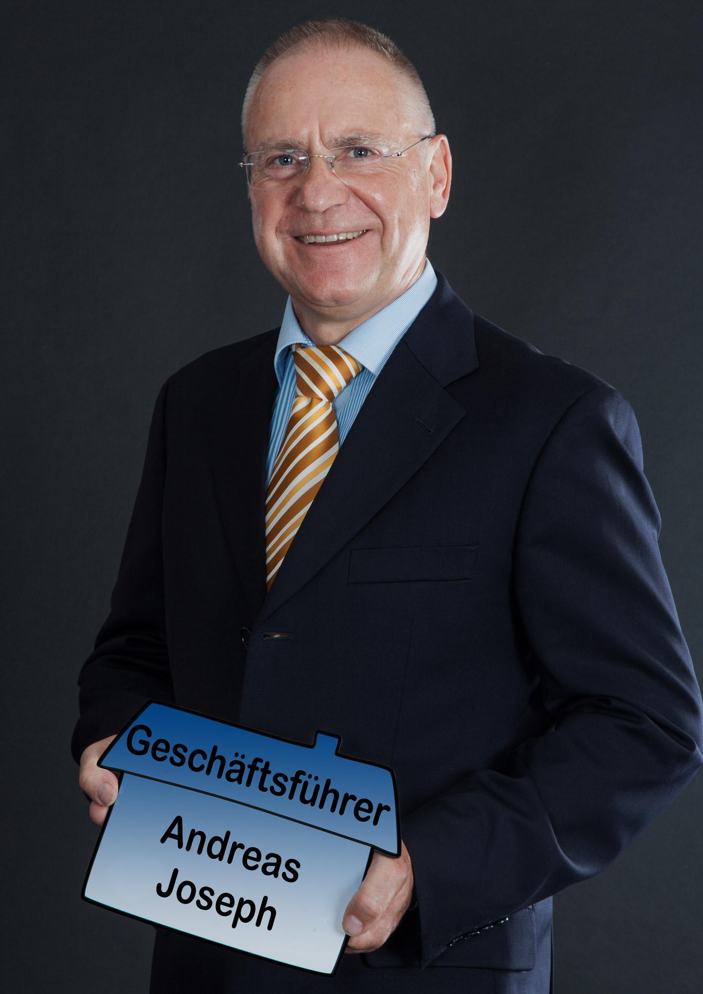 Geschäftsführer Andreas Joseph